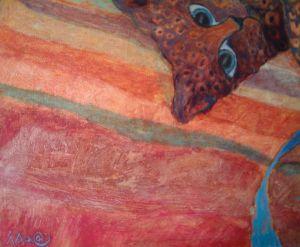 la peintre Isaa