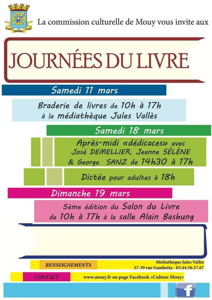 Festival du livre de Mouy