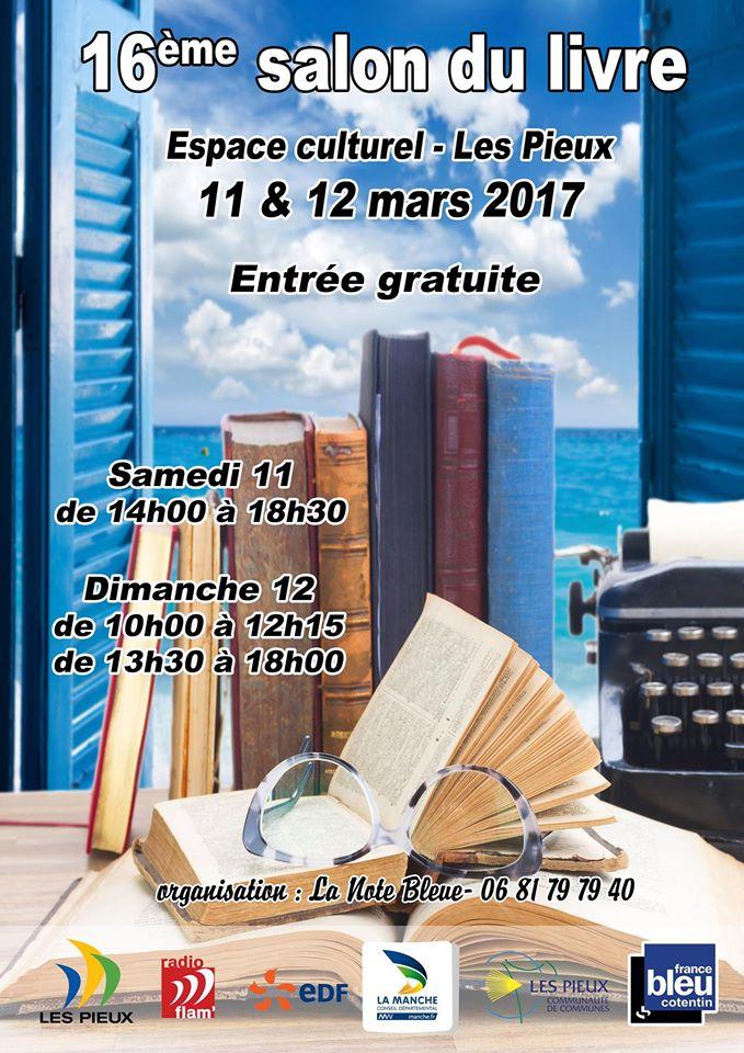 Salon du livre des Pieux 2017