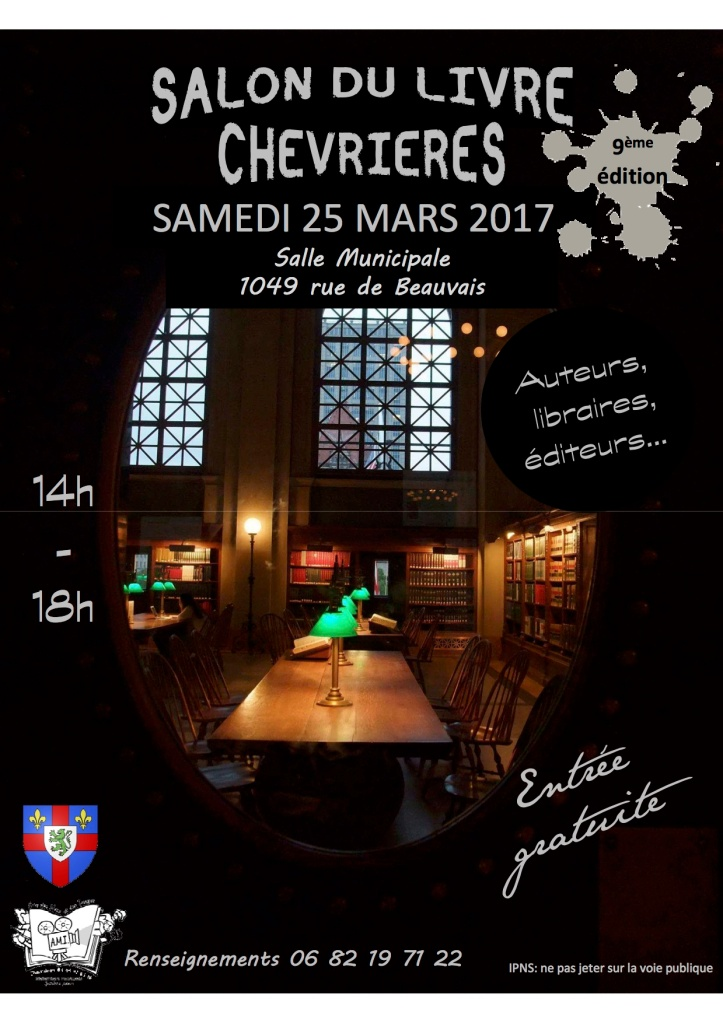 Salon du livre de Chevrière 2017