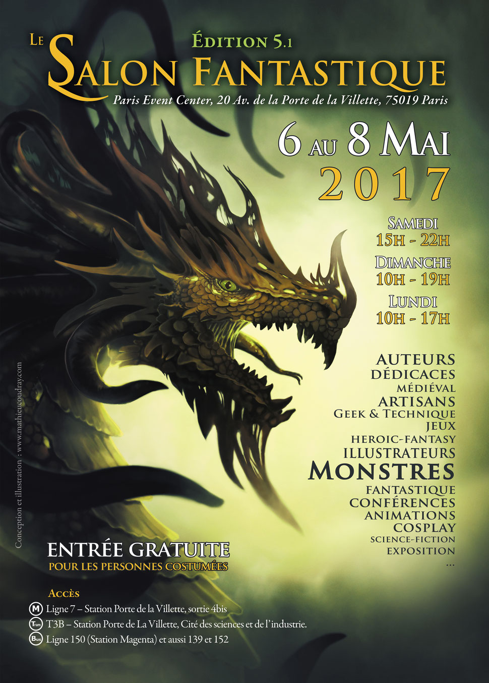 Le salon fantastique 2017