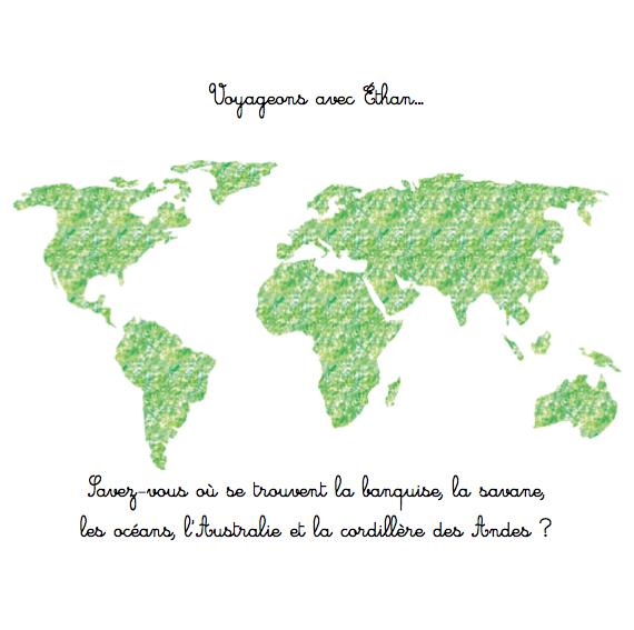 voyageons autour du monde avec les animaux