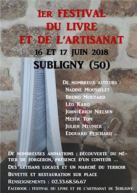 Salon du livre de Subligny 2018