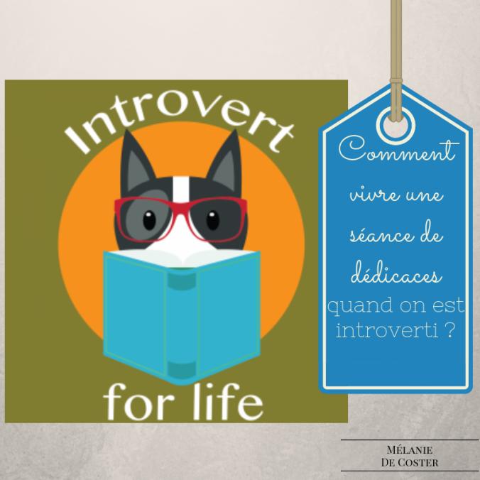 comment vivre une séance de dédicaces quand on est introverti